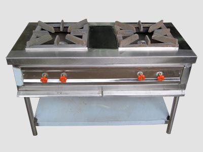 Double Burner Oven With Shelf In Odisha, Double Burner Oven With Shelf Manufacturer In Odisha